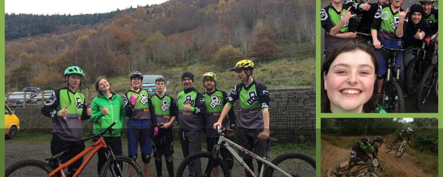 Team Ride Velo and Cwmcarn Wales